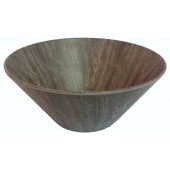 "Merritt International Melamine Heartwood 10""x4.25"" Serving Bowl"